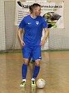 V devátém kole II. ligy futsalistů porazili Žabinští Vlci Brno (v zelených dresech) Amor Lazor Vyškov 8:2.