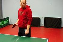 S týmem Tělocvičné jednoty Sokol Hlubočany A hraje Marek Baričák pátou nejvyšší soutěž v České republice.