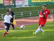 V utkání Moravskoslezské ligy remizovali fotbalisté MFK Vyškov s FK Blansko 0:0.