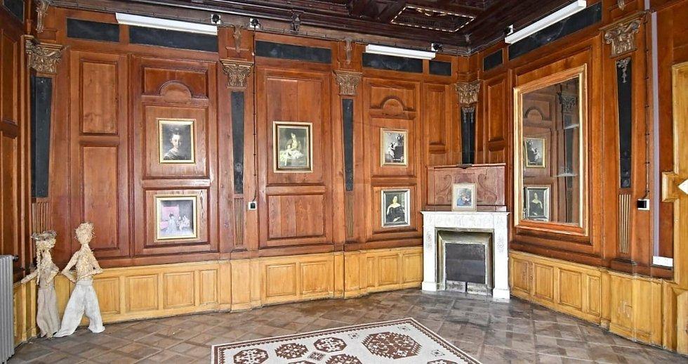 Interiér zámku.
