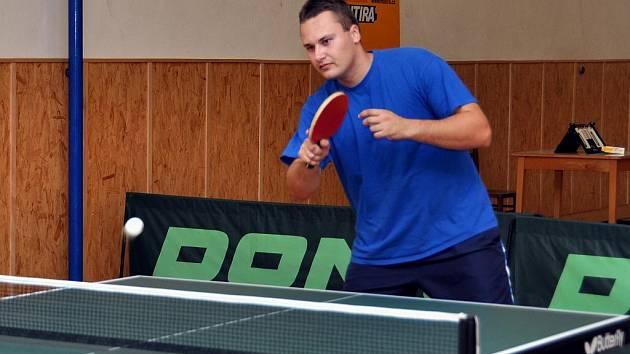 Stolní tenista Zdeněk Daněk.