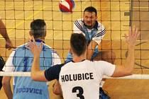 Ve okresním derby II. ligy volejbalistů se TJ Holubice a Sokol Bučovice rozešly smírně po výsledcích 1:3 a 3:0.