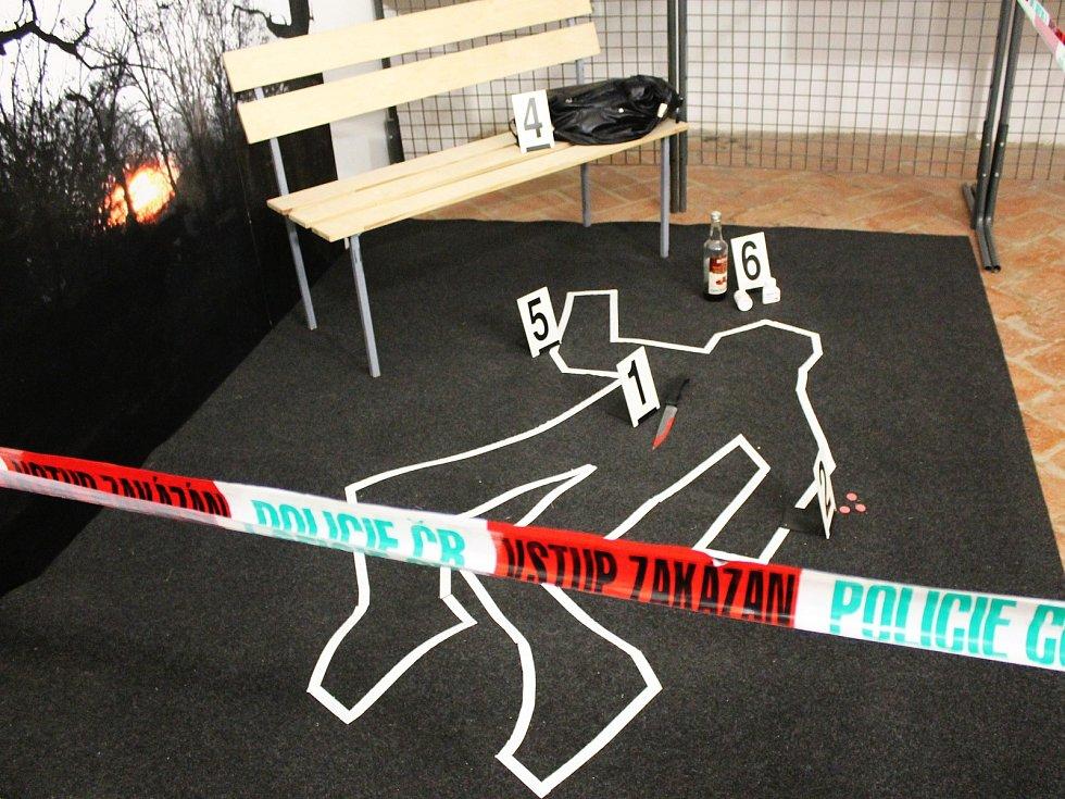 Už jen v neděli můžou lidé navštívit výstavu v Muzeu Vyškovska věnovanou metodám kriminalistiky. A to od dvou do čtyř hodin odpoledne.