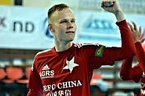 Futsalista pražské Slavie Jan Homola začínál hrát fotbal v Dražovicích.