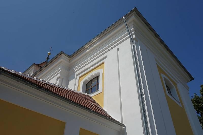 Kostel svatého Mikuláše v Letonicích.