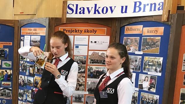 Vyučované obory představí také zástupci Integrované střední školy Slavkov u Brna.