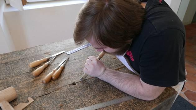 Studenti se Slavkovského restaurování zúčastnili také loni.