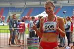 Sabina Fiantová obsadila v závodě žen halové ligy na jeden kilometr 4. místo.