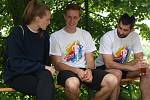 Pátý ročník pivního maratonu v Mouřínově.