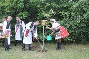 Stárci zasadili památnou lípu.