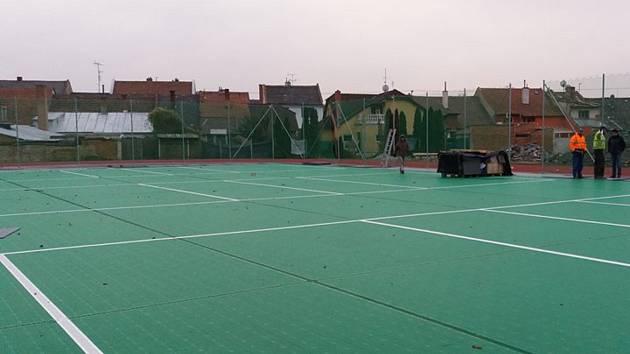 V Ivanovicích na Hané mají sportovní areál hotový. Cyhbí jen poslední úpravy.