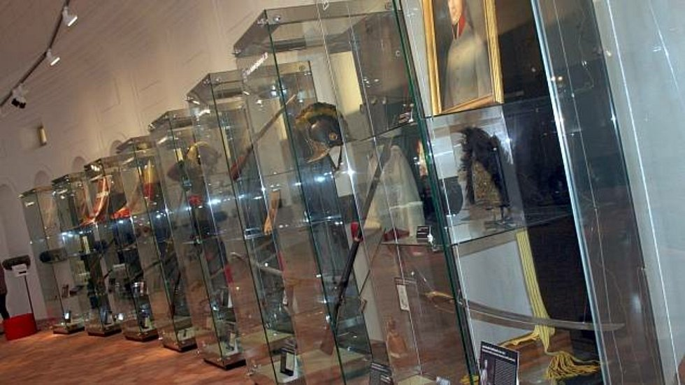 Napoleonskou expozici ve Slavkově slavnostně odhalili v květnu 2013.