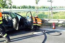 Čtyři zraněné a škoda půl milionu korun, to je výsledek nehody, která se stala v neděli ráno ve Slavkově.