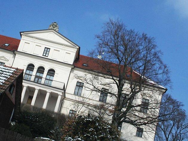 Habrovanský zámek.