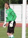 Ve 29. kole Moravskoslezské fotbalové ligy porazil MFK Vyškov doma SK HS Kroměříž (žlutá) 3:2.