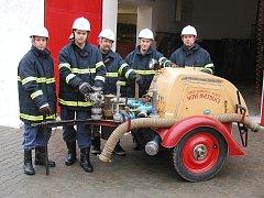 Sbor dobrovolných hasičů z Nových Hvězdlic je vždy připraven k zásahu