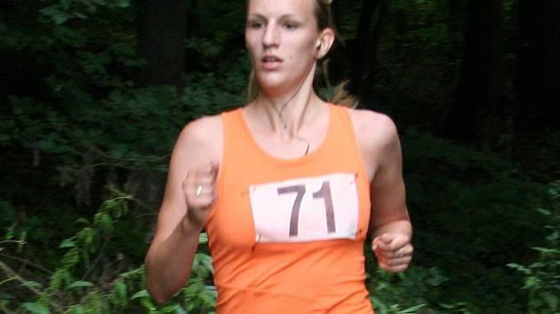 Běžkyně Iveta Hynštová.