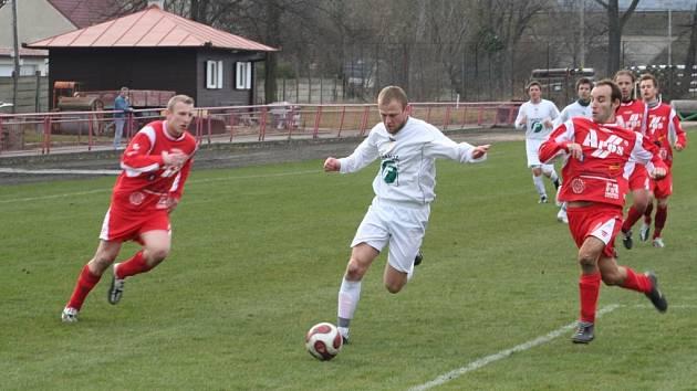 V zápase s Blanskem si fotbalisté Framozu Rousínov vypracovali rozhodující náskok svoji perfektní útočnou hrou v prvním poločase. Spoléhat na ni chtějí i v sobotním utkání proti ČAFC Židenice.