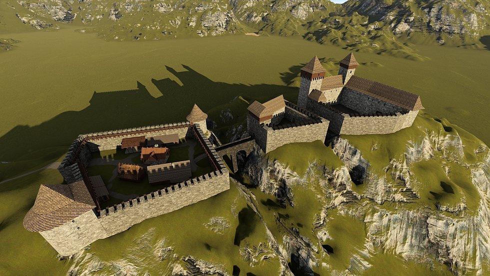Středověká fáze v období od čtrnáctého do patnáctého století.