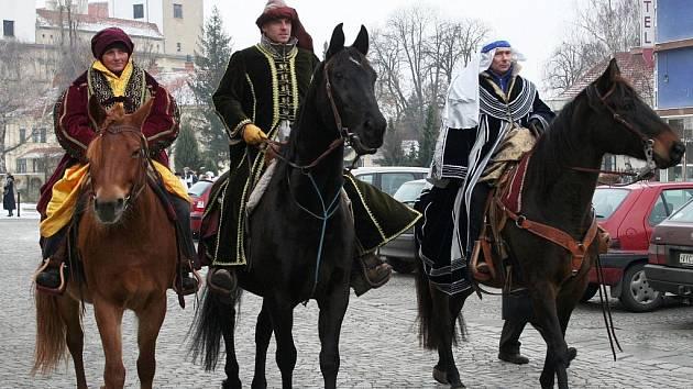 Tři králové v Bučovicích.