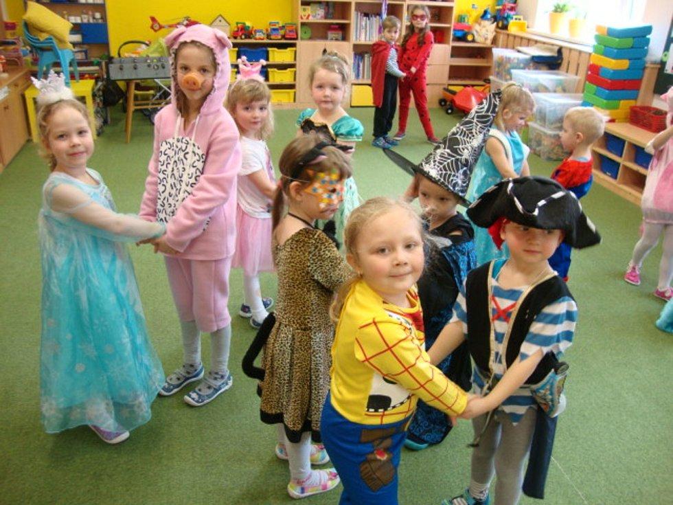 Děti z Mateřské školy Bučovice, pracoviště Součkova.