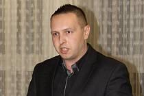 Z jednání valné hromady OFS Vyškov. Předsedou výkonného výboru byl opět zvolený Ondřej Šišma.