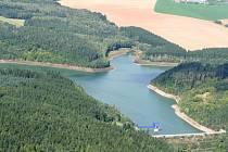 Opatovická přehrada u Vyškova. Ilustrační foto.