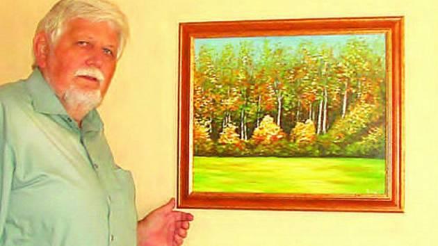 Vztah k přírodě dovedl právníka Ladislava Rolného až k malování.  Jeho nejčerstvější práce uvidí návštěvníci Turistického informačního centra ve Vyškově. Obrazy doplní bonsaje Jaroslava Navrátila z Manerova.