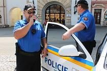 Vyškovská městská policie.