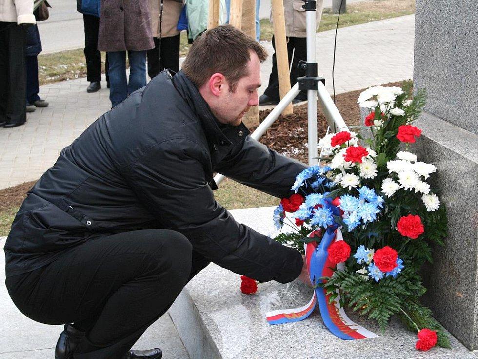 Vyškovští slavnostně uctili Masarykovu památku.
