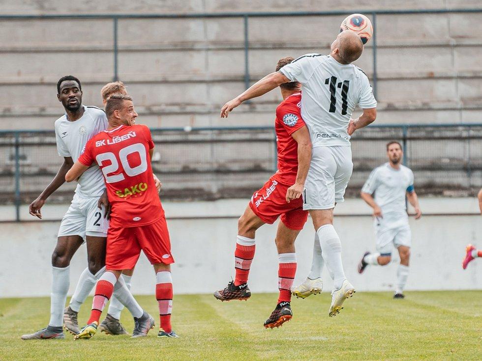 V prvním domácím utkání druhé ligy remizovali fotbalisté Vyškova s Líšní 1:1. Na zápas do Drnovic přišly skoro dvě tisícovky diváků.
