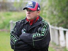 Tomáš Kovanda, trenér fotbalistů Tatranu Rousínov.
