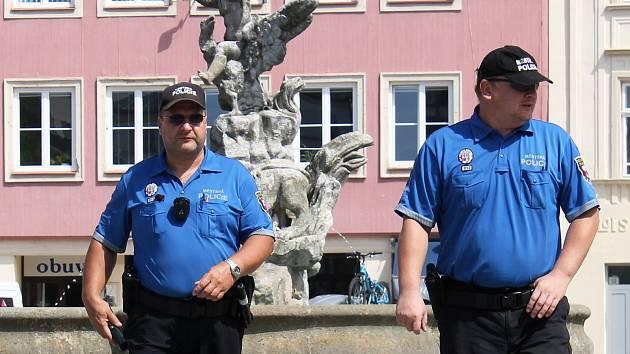 Vyškovští strážníci.