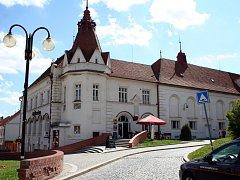 Společenské centrum Bonaparte ve Slavkově u Brna.