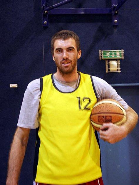 Basketbalista Ivo Höger.