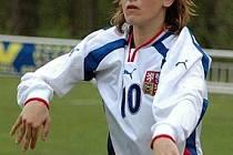 Fotbalistka Vendula Tomšíková.