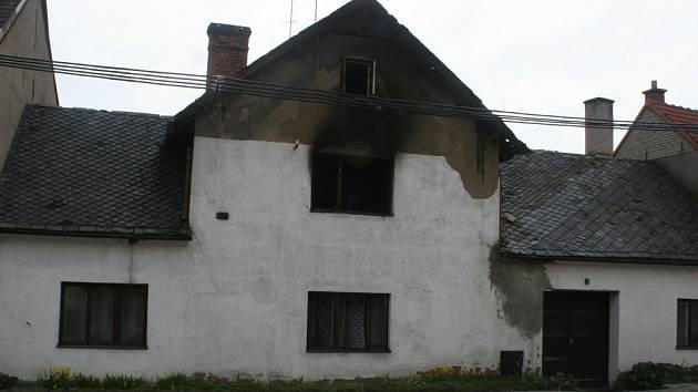 dům v Habrovanech je nyní neobyvatelný.
