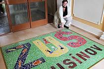 Základní umělecká škola v Rousínově si k výročí nadělila dva dárky: mozaiku a zmenšený model budovy školy.