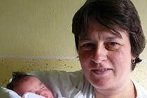 Anna Burešová s maminkou Janou, 50 cm, 3,76 kg, 21. října 2008, Vyškov