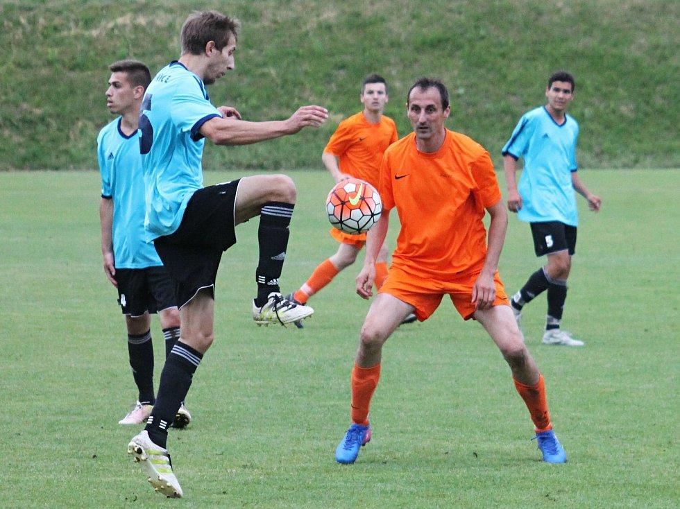 V posledním kole krajského přeboru FC Bučovice porazily SK Vojkovice 1:0.