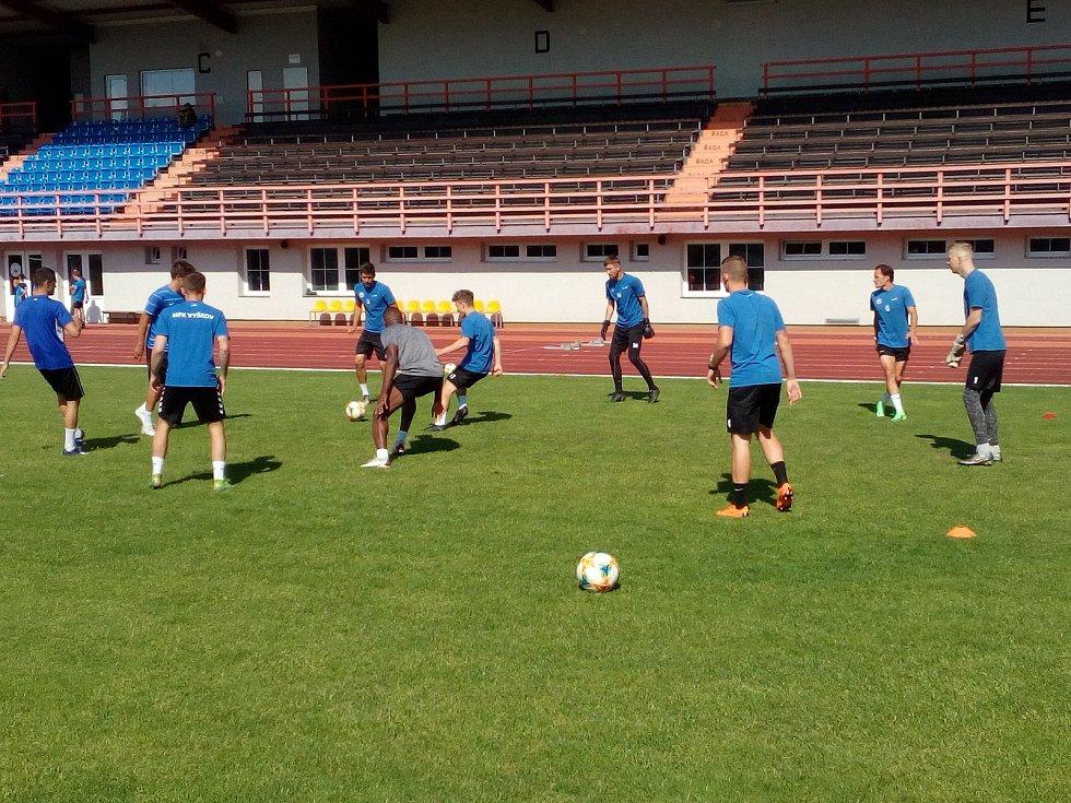 Fotbalisté MFK Vyškov zahájili letní přípravu na boje ve druhé lize.