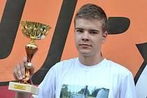Nejmladší automobilový závodník v ČR Michal Žáček z Křenovic.