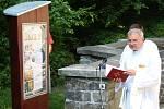 U kaple Strachotínka ve vyškovských Hamiltonech si nově lidé přečtou o historii lokality i pověsti.