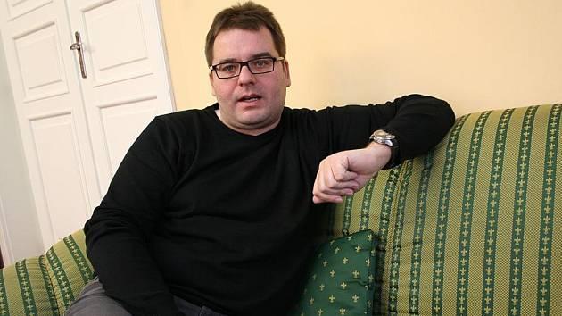 Vyškovský starosta Karel Goldemund.