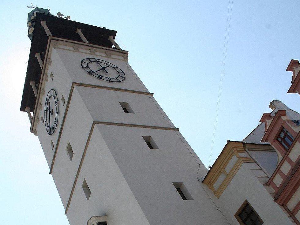 Vyškovská radnice. Ilustrační fotografie.