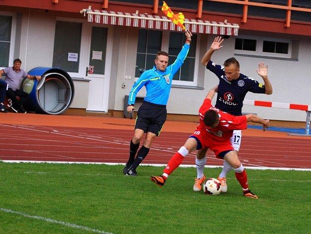 V 8. kole moravskoslezské fotbalové ligy MSFL MFK Vyškov porazil 1.FC Slovácko B 4:1.