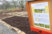 Zahradu v přírodním stylu čeká už jen několik posledních úprav. Na jaře už by se po ní měly prohánět děti ze školky i ze školy.