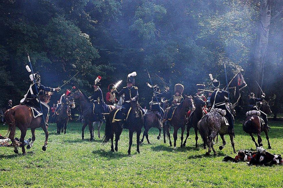 Napoleonské dny ve Slavkově - Souboj jezdectva.