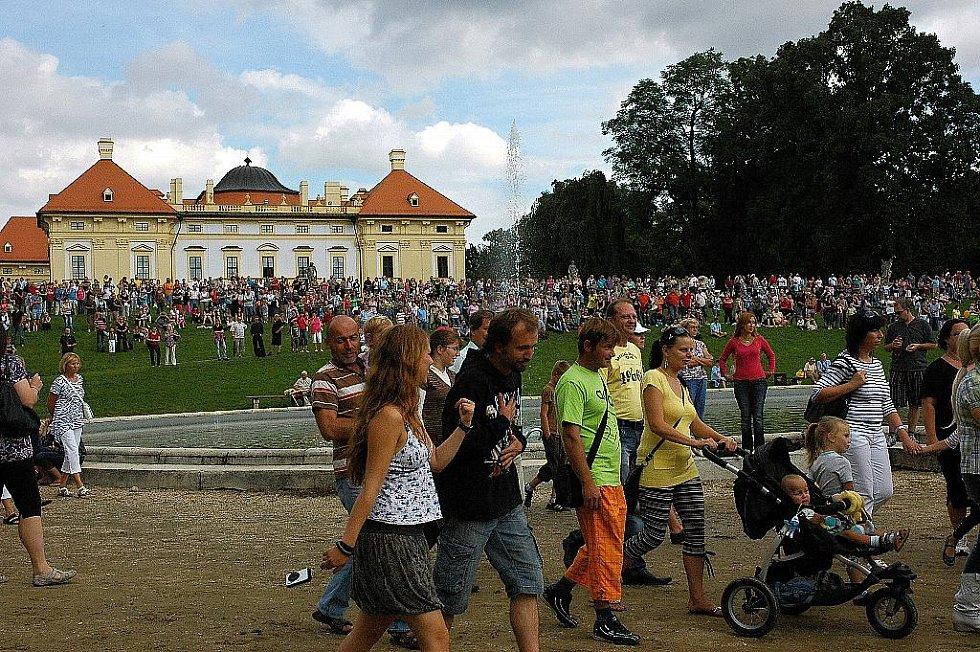 Napoleonské dny ve Slavkově - Představení si nenechaly ujít stovky diváků.