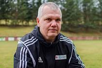 Petr Kalousek, trenér fotbalistů Komořan.
